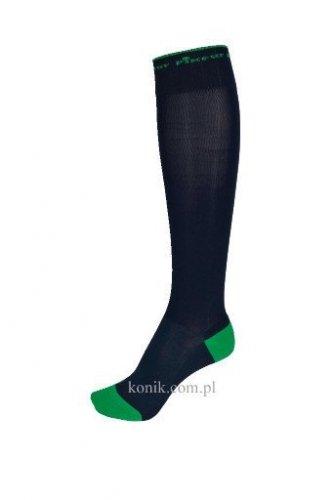 Podkolanówki Pikeur do oficerek - navy/green