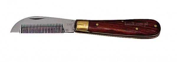 Nóż do trymowania grzywy - Ekkia