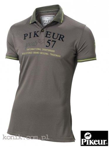Koszulka męska polo Pikeur OLIVER - olive