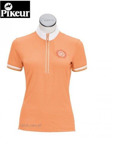 Koszula konkursowa PIKEUR - pomarańczowa