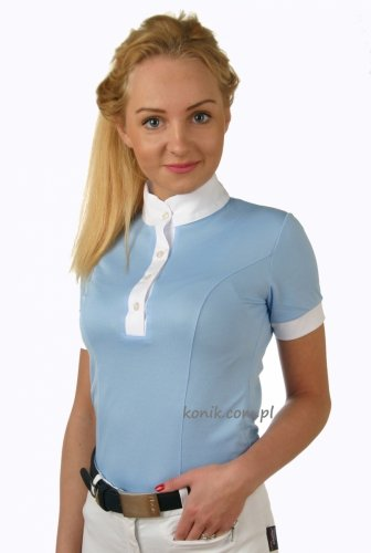 Koszulka konkursowa damska z krótkim rękawem - GALLA