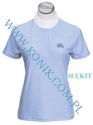 Koszula konkursowa elastyczna PIKEUR - różowa