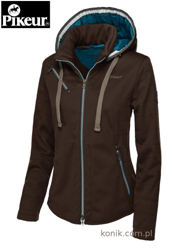 Kurtka Pikeur CAMPERA softshell - dark brown
