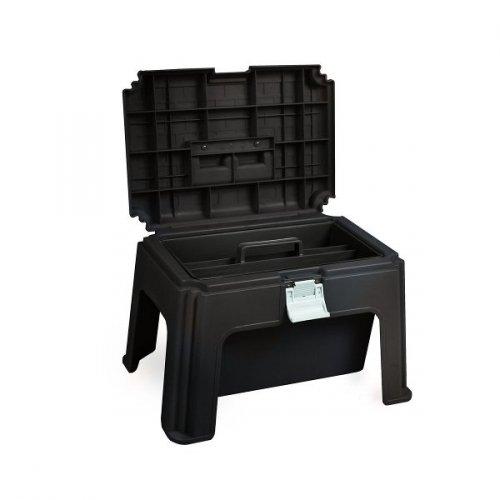 Skrzynka na szczotki/stołek - HORZE