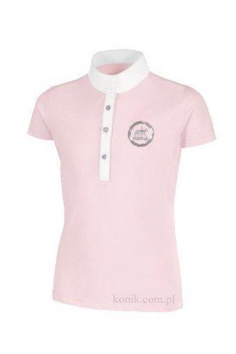 Koszulka konkursowa młodzieżowa PIKEUR - rosa