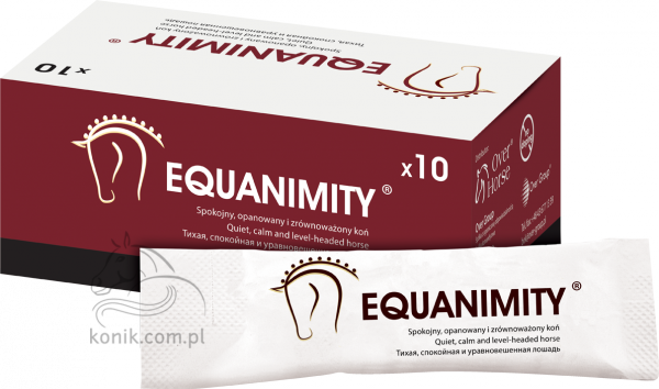 Equanimity - spokojny, opanowany i zrównoważony koń - 5ml