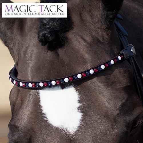 Wkładka magnetyczna do naczółka Magic Tack - white-freshberry-navy
