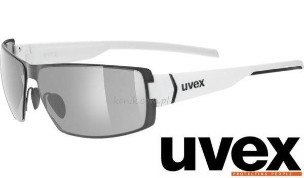 Okulary przeciwsłoneczne UVEX stick białe