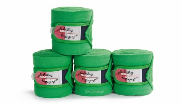 Bandaże polarowe Eskadron z kolekcji LIMITED leaf green- FULL