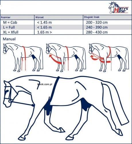 Patent do lonżowania SOFT - HARRY'S HORSE