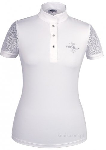 Koszulka konkursowa z koronką CECILE - FAIR PLAY