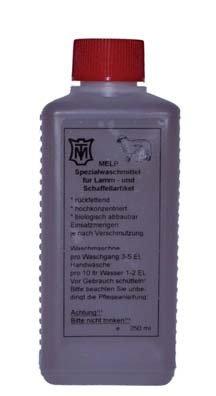 Płyn do prania futer owczych oraz wełny MELP 250ml - MATTES