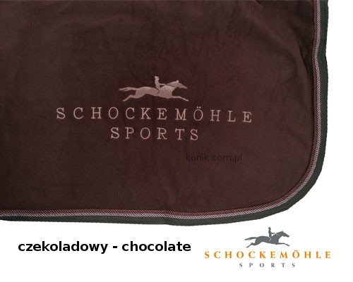 Derka polarowa FIRST CLASS z logo Schockemohle