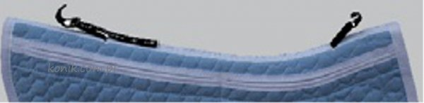 Podkładka pod siodło CORRECTION SYSTEM z SADDLE FIX- Mattes