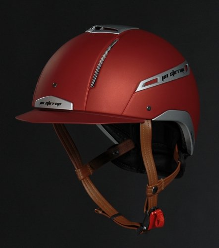 Kask ICONA COLOR red - JIN STIRRUP