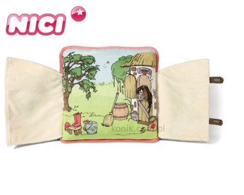 Pluszowa poduszka otwierana kucyk Kapoony - NICI