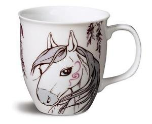 Kubek koń biały - NICI