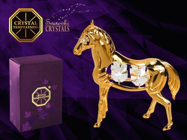 Figurka koń arabski Swarovski - Union Crystal