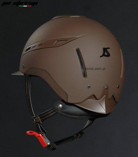 Kask ICONA MONO brown - JIN STIRRUP
