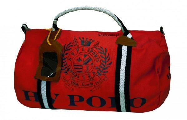 Torba sportowa Gias Canvas red-navy - HV POLO