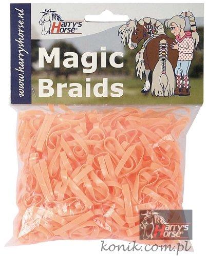 Gumki do grzywy silikonowe - HARRY'S HORSE