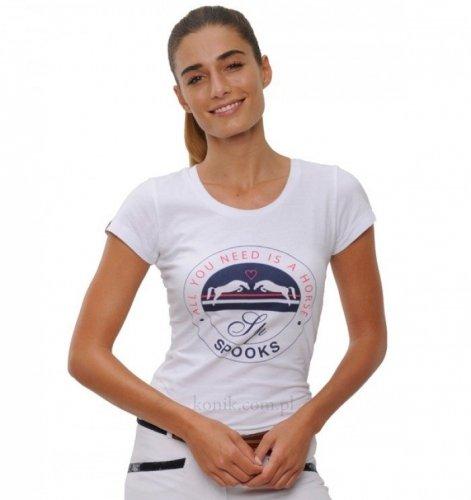 Koszulka damska Horse SPOOKS - white