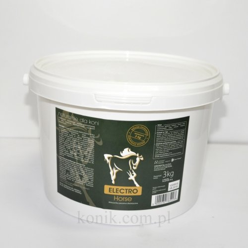 ELECTRO Horse elektrolity 3kg - OVER-HORSE (edycja limitowana)
