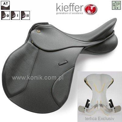 Siodło Kieffer model GARMISCH - wszechstronne terlica exclusive