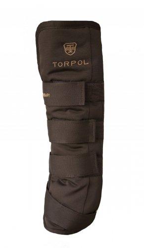 Ochraniacze stajenne NELSON MAGNETYCZNE tyły brąz - TORPOL