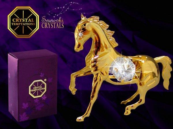 Figurka Koń Swarovski - Union Crystal