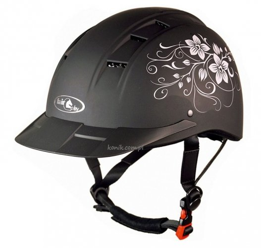 Kask ELF floral matt - FAIR PLAY