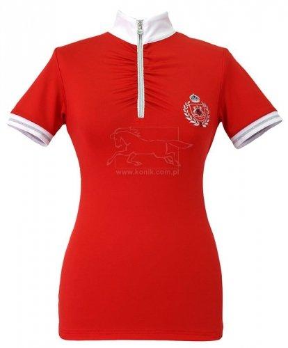 Koszula konkursowa JULIA czerwona - FAIR PLAY