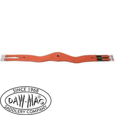 Popręg skórzany elastyczny asymetryczny - Daw-Mag