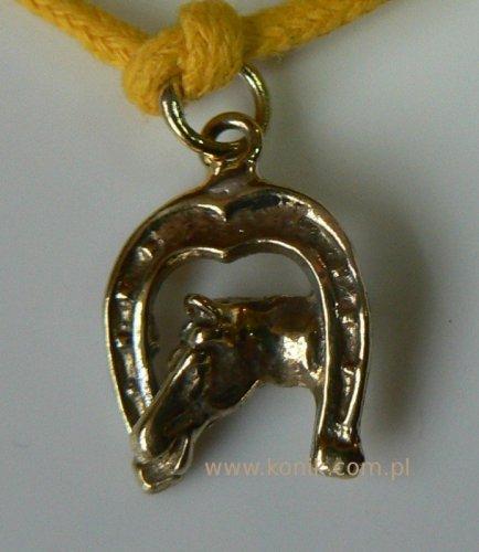 Bransoletka - głowa konia w podkowie