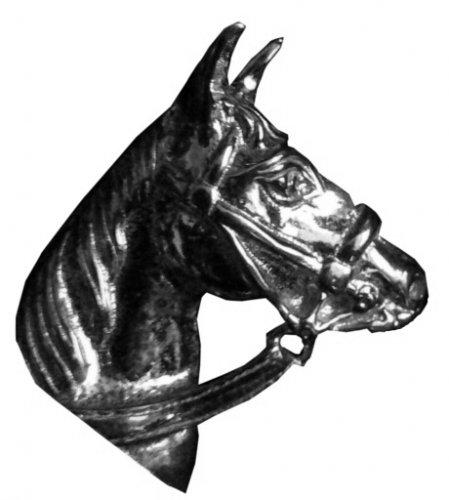 Wisiorek - głowa konia 4