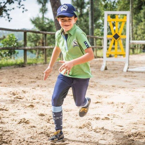 Dziecięca koszulka polo Dani - Horze
