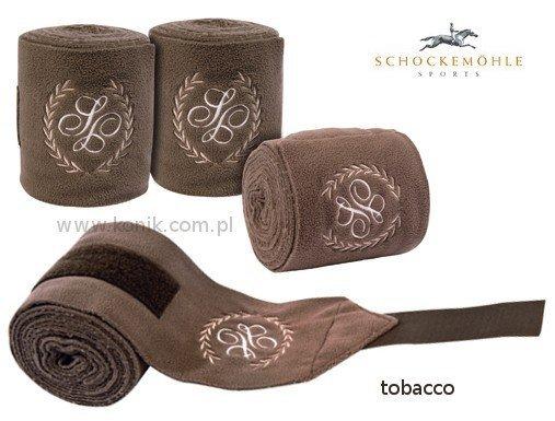 Bandaże polarowe Schockemohle - tobacco