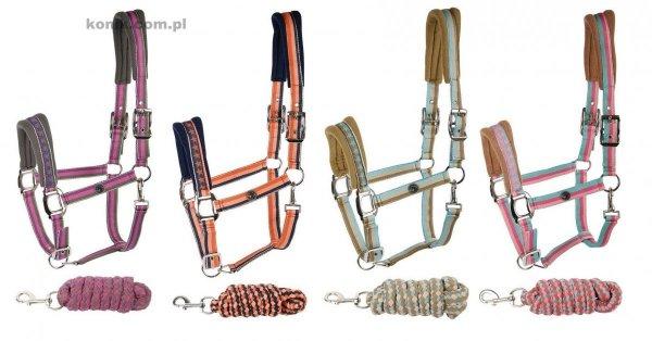 Zestaw kantar + uwiąz Stripe SU15 - Harry's Horse