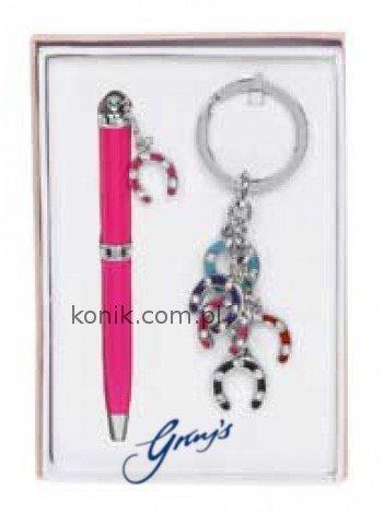Długopis w komplecie z brelokiem - GRAY'S