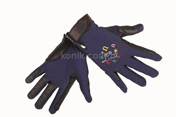 Rękawiczki dziecięce Galopujący Koń - HKM