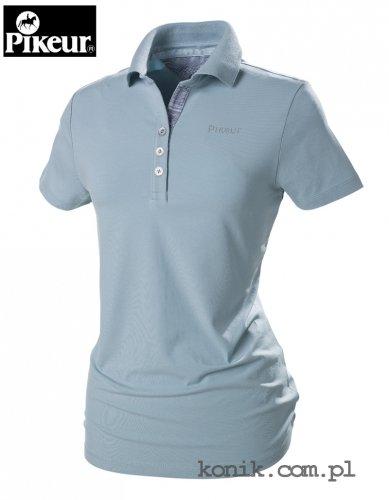 Koszulka polo Pikeur MARIELLA - light blue