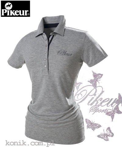 Koszulka polo DOLLY - Pikeur - grey melange - damska