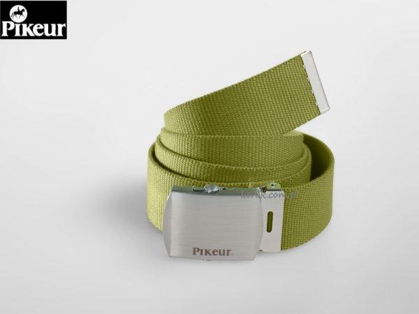 Pasek do spodni parciany dark lime - Pikeur