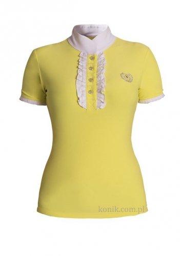 Koszula konkursowa CHARLOTTE żółta - FAIR PLAY