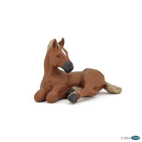 Figurka leżący źrebak AMERICAN QUARTER HORSE - PAPO