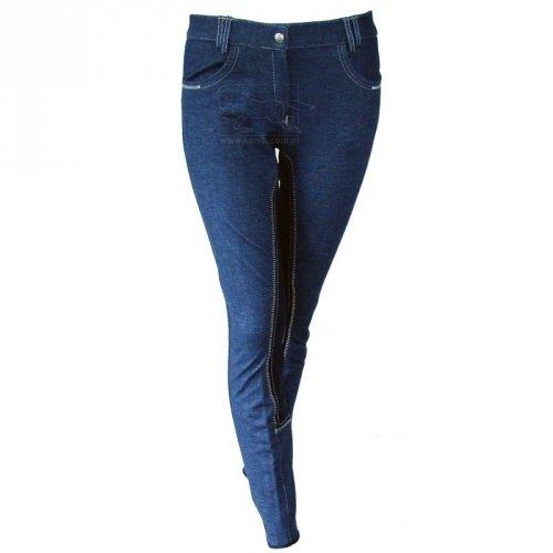 Bryczesy jeansowe HIGHLAND z pełnym lejem - START