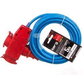 Przedłużacz specjalistyczny 3-gniazda z/u 5m H07BQ-F 3G1,5 KG.06.1.3G.32.05.52
