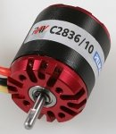Silnik bezszczotkowy RAY C2836/10