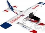 Samolot Cessna 182 1200 mm EPP z pływakami - Pelikan RTF 2,4 GHZ