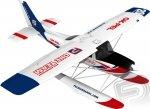 Samolot Cessna 182 1200 mm EPP z pływakami - Pelikan